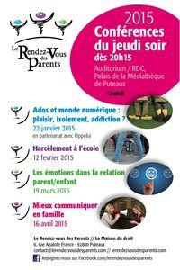 2015 Le Rendez-Vous des Parents - FlyerT2 - Confs