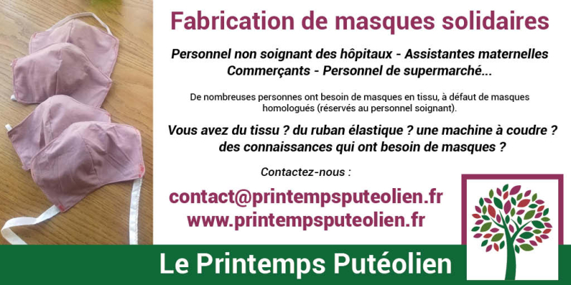 Masques-solidaires