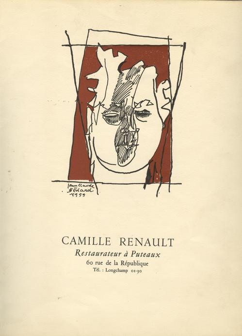 Restaurant de Puteaux : carte de Jean-Claude Bédard