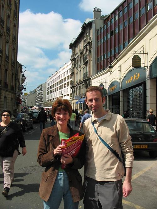 Campagne des europénnes : 16 mai 2004.
