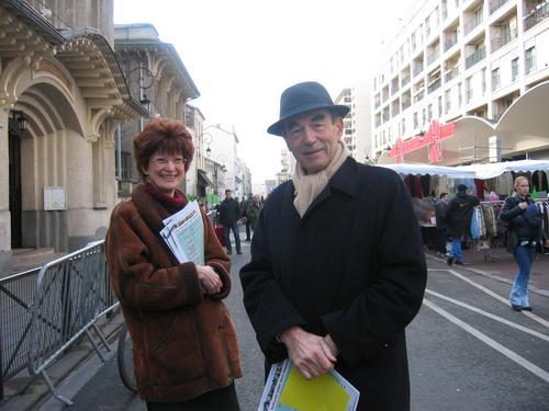 Nadine Jeanne et Robert Badinter : 8 février 2004