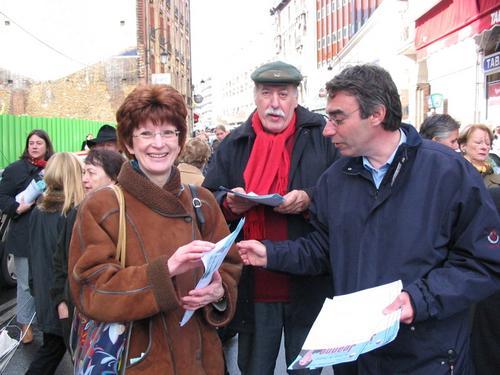 Nadine Jeanne, Gérard Brisset et Pascal Buchet